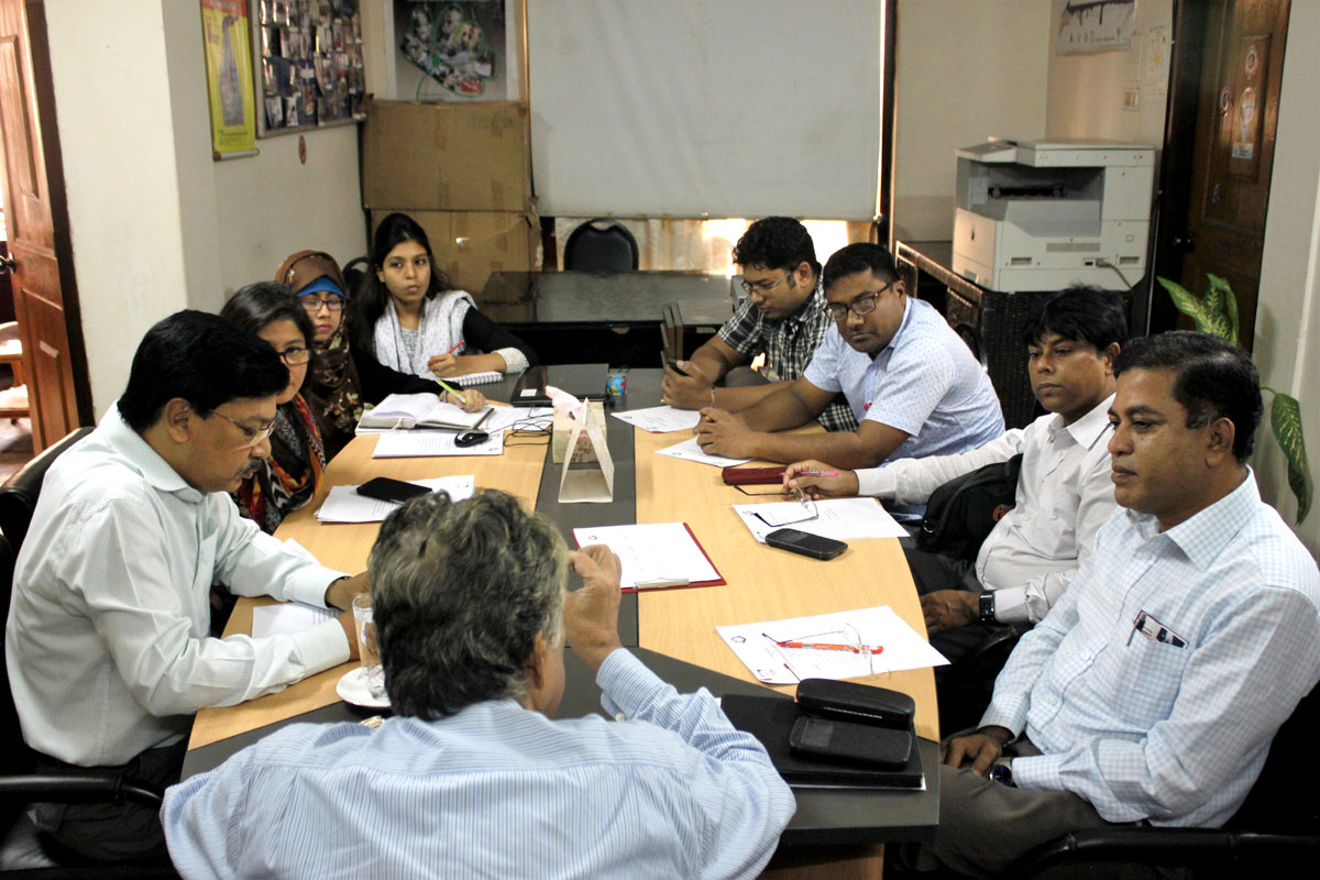 Consultation on Joint Initiatives for 'Mercury Free Dentistry' between ESDO and Bangladesh Dental Society (BDS)