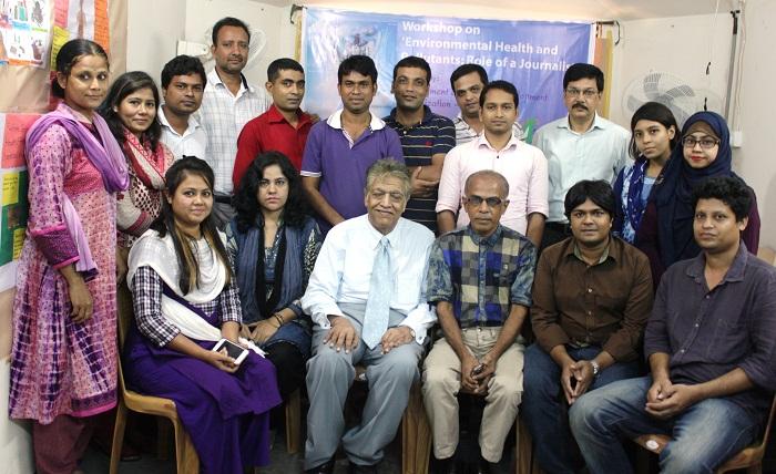 Training Workshop on Environmental Health For Journalists Held In Dhaka
