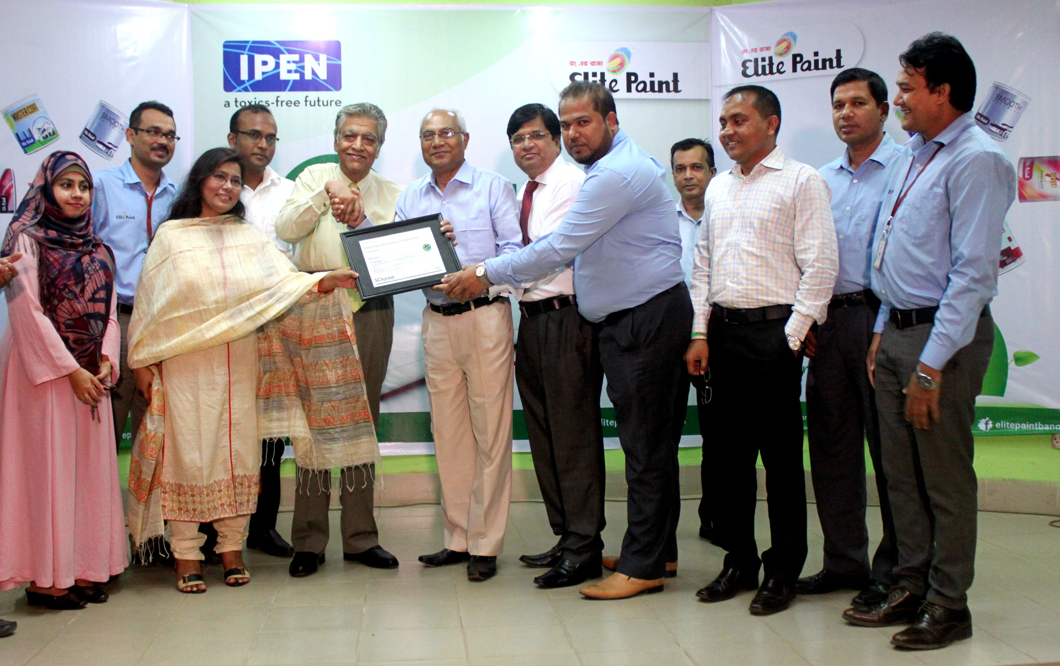 Elite Paints is the First Paint Company of Bangladesh to Receive the Lead Safe Paint ® Certification
