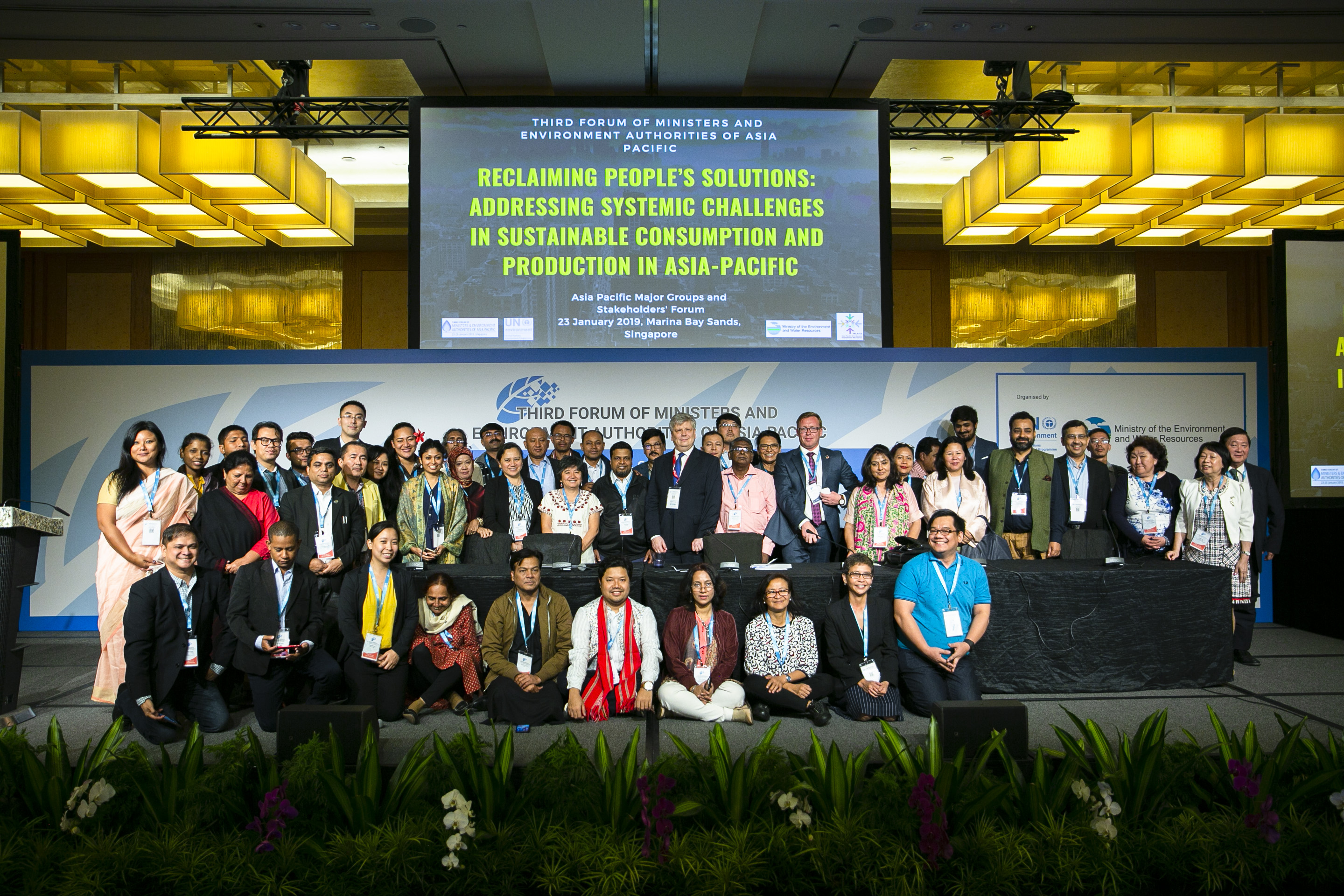 The Third Forum of Ministers and Environment Authorities of Asia Pacific Has kicked-Off on 23rd January