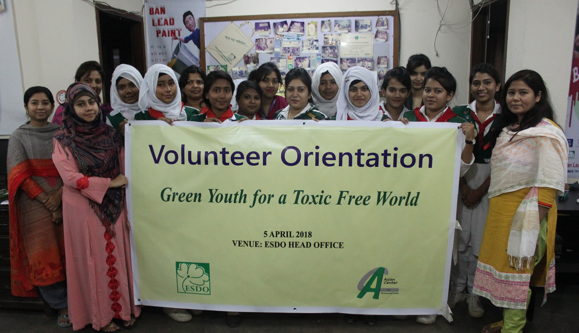 ESDO Arranged Volunteer Orientation Program