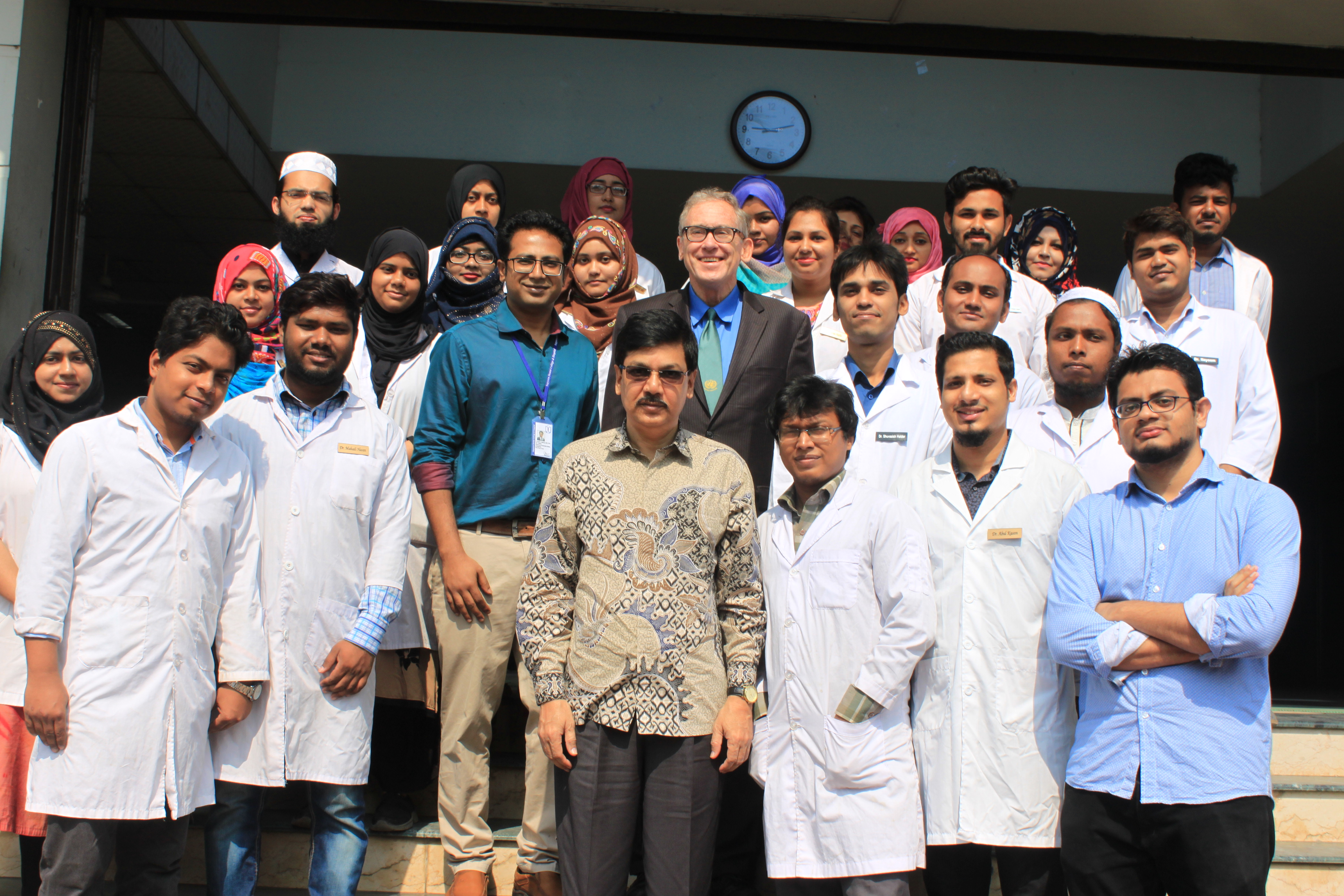 President of World Alliance, Charles G. Brown  and ESDO team visited Sapporo Dental College