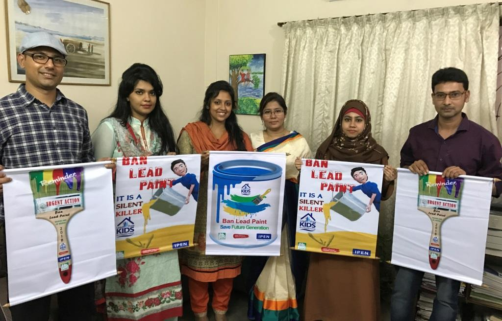 BAN LEAD PAINT IN BANGLADESH
