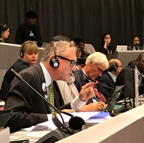 President of World Alliance for Mercury-Free Dentistry made an Enthusiastic Statement in COP1