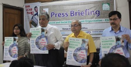 """Beat the Plastic Pollution, Ban the Bag"" Bangladesh NGO Pioneering Move to Worldwide Plastic Bag Ban"