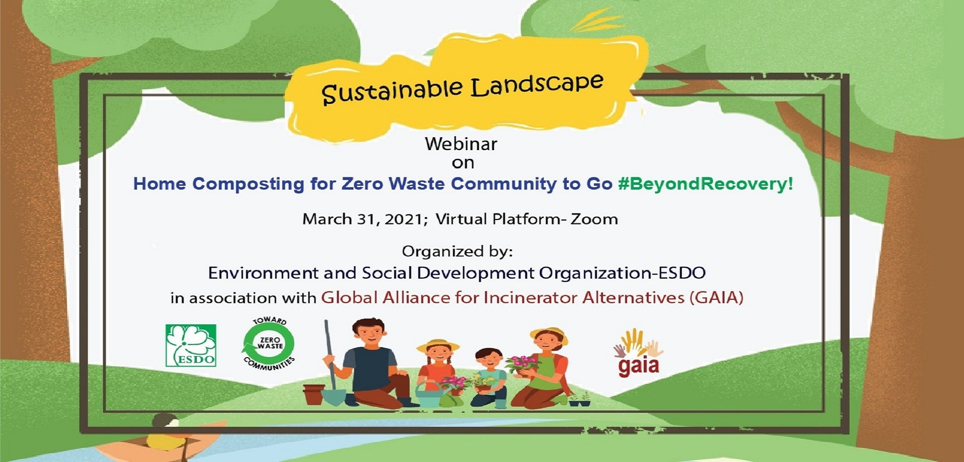 ESDO Celebrated Global Day of Action with GAIA To Promote Home Composting from Organic Waste