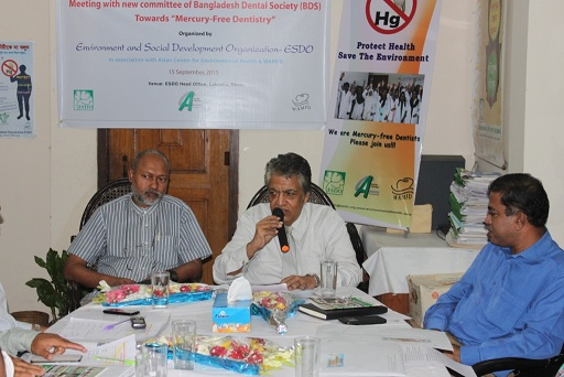 Meeting with new committee of Bangladesh Dental Society (BDS)