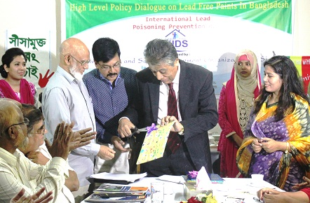 Policy Dialogue on Urgent Regulations for Eliminating Lead in Paint in Bangladesh