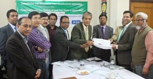 """EU-FUNDED STUDY """"LEAD IN NEW ENAMEL HOUSEHOLD PAINTS OF BANGLADESH 2015"""" RELEASED"""