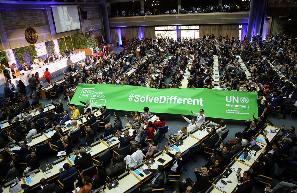 UNEA-4 call off with a new hope to end plastic pollution