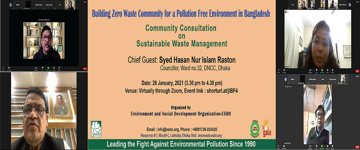 Community Consultation on Sustainable Waste Management