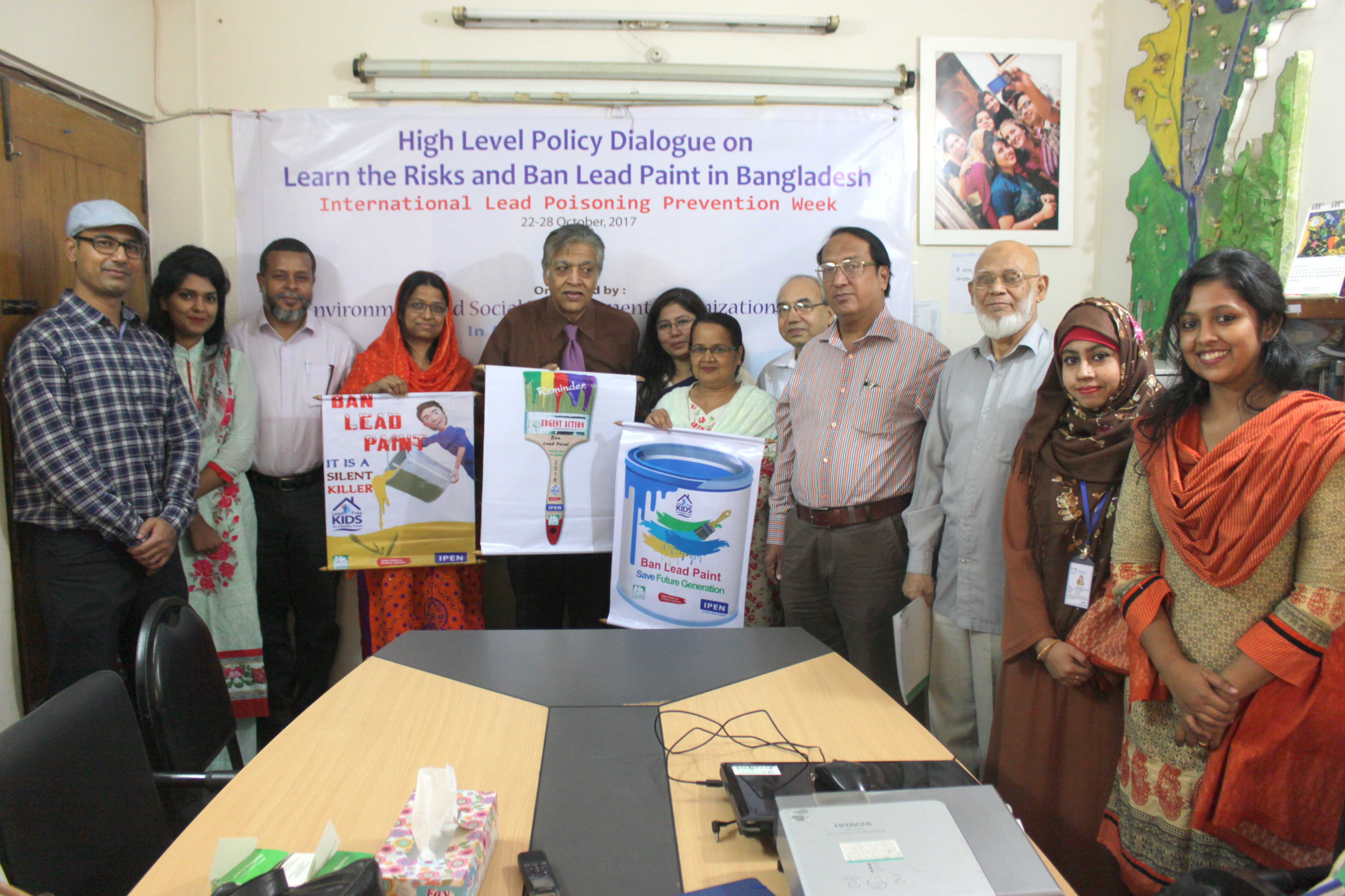 High Level Policy Dialogue On 'Learn the Risks and Ban Lead Paint'