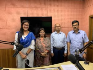 Talk show with ABC Radio – Jointly Organized by Environment and Social Development Organization – ESDO and Department of Environment – DoE on Harmful Effects of Mercury Added Products on Health and Environment.