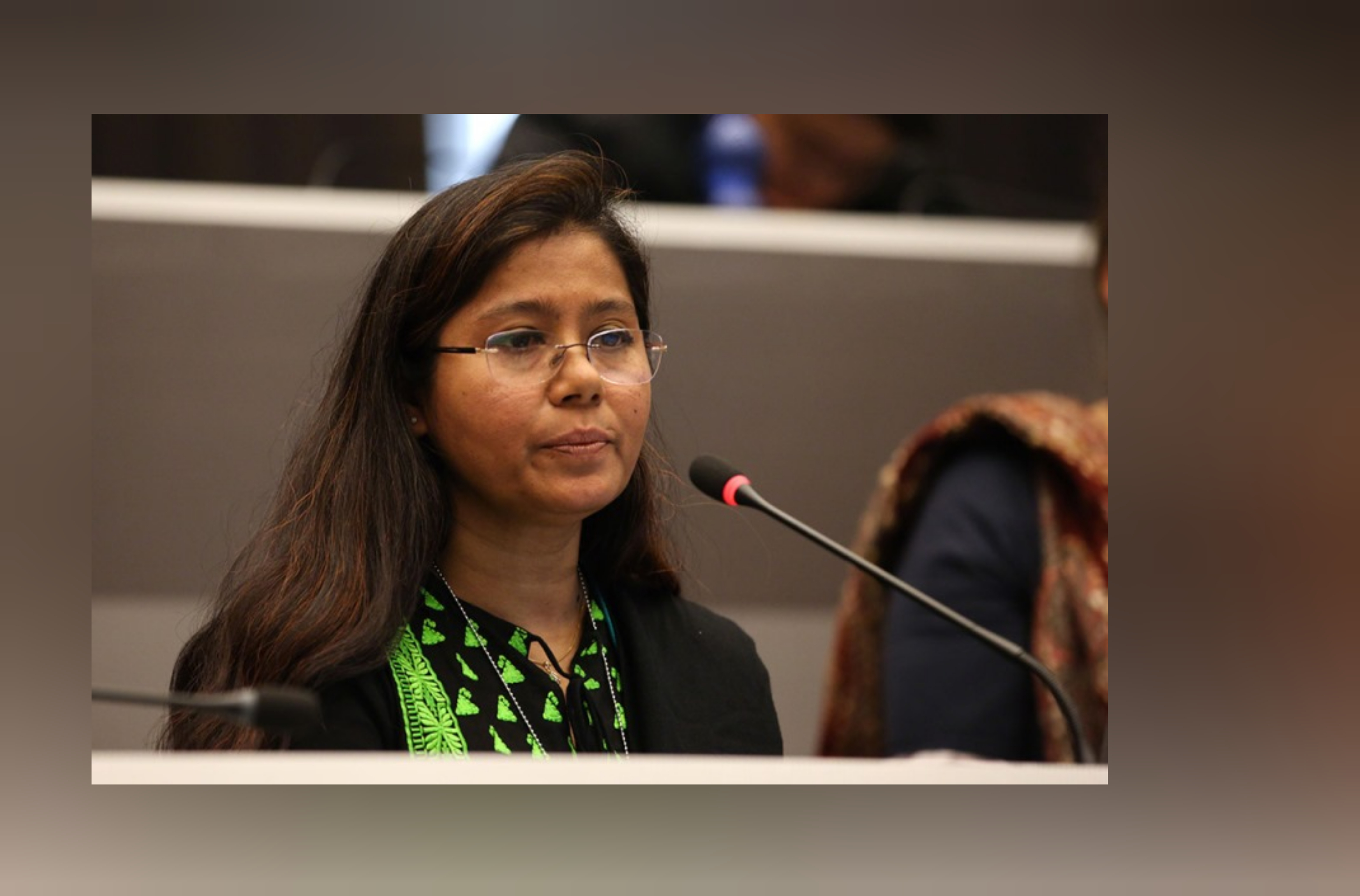 On behalf of CSOs Siddika Sultana Executive Director, ESDO & Director of Asian Center for Environmental Health made an intervention at BRS COP at Geneva on May 4, 2019