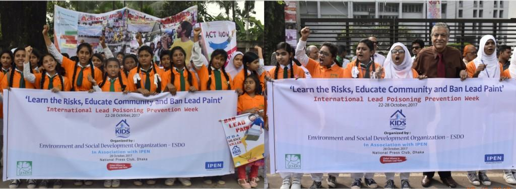 CHILDREN FOR LEAD FREE PAINT