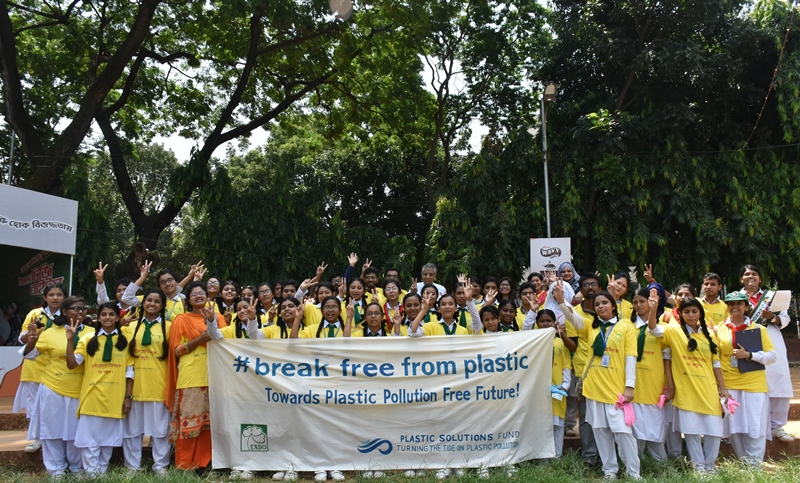 Brand Audit  World Cleanup Day-2018